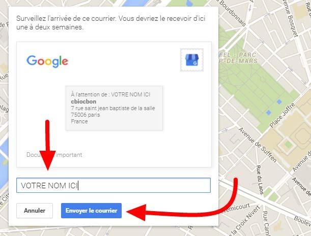ajouter son entreprise sur google maps
