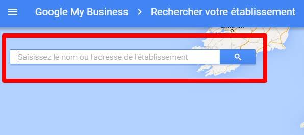 google map entreprise