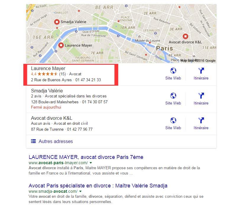 se référencer sur google maps