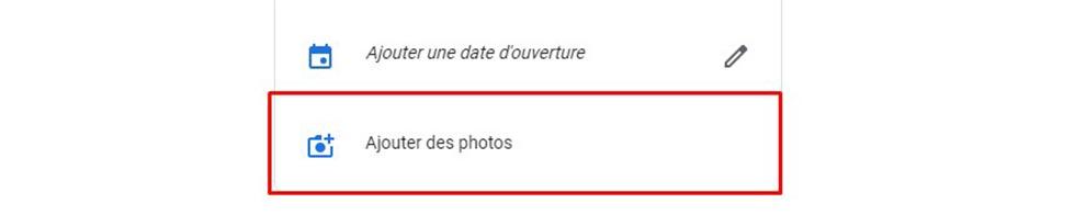 comment supprimer des photos sur google my business