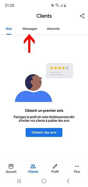 fiche google business