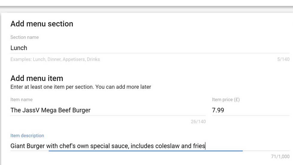 google local busines