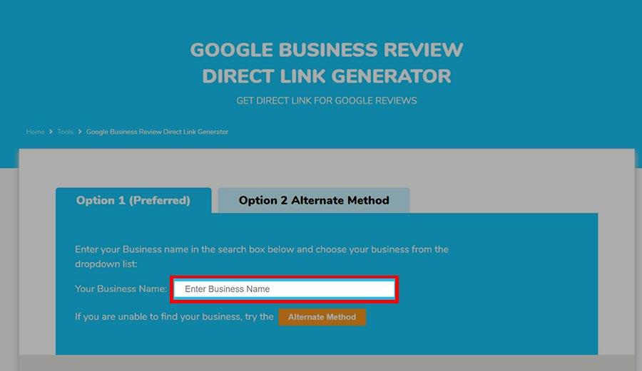 google my business avis