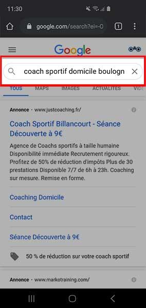 google my business pour les nuls